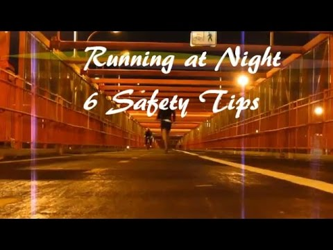 Running at Night: 6 Safety Tips for Beginners – ANSI Safety Vests : Why These Reflective Vests Are Important? Evaluation